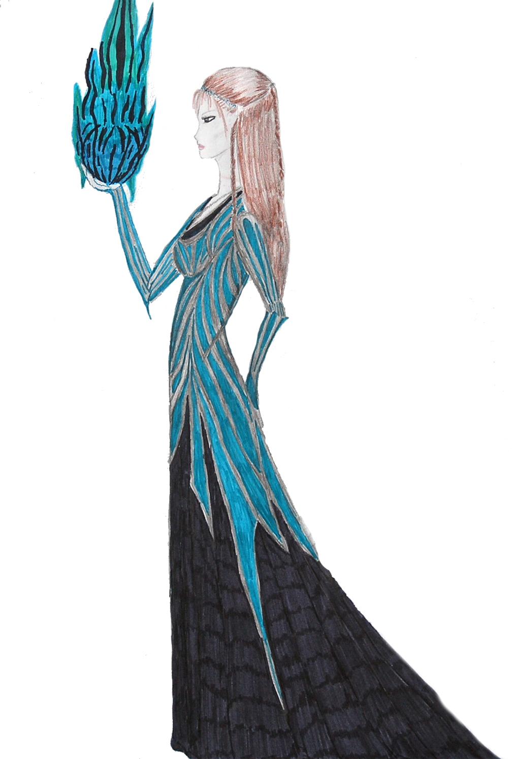 Fantasie-Zeichnung