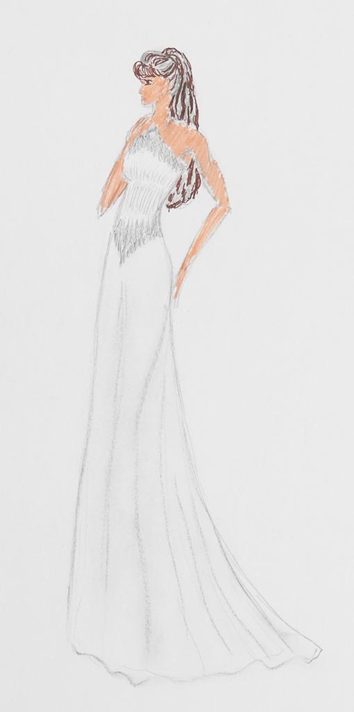 Mode-Zeichnung 01