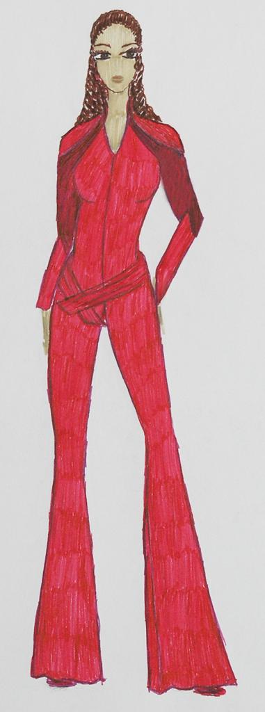 Mode-Zeichnung 02