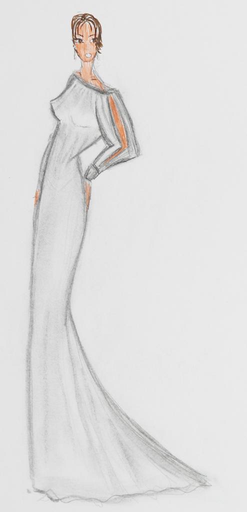 Mode-Zeichnung 03
