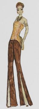 Mode-Zeichnung 04