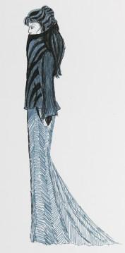 Mode-Zeichnung 05