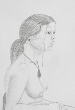 Nude sketch 02