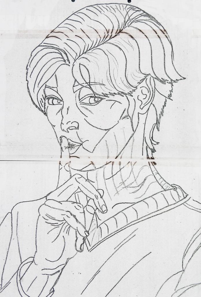 Selbstportrait Zeichnung 02