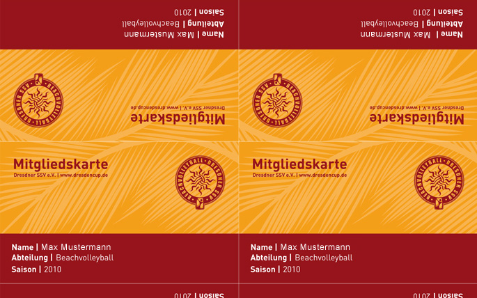 DresdnerSSV - Membership cards