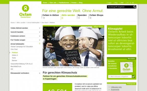 Oxfam - Homepage