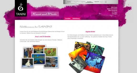 Tanini - Homepage