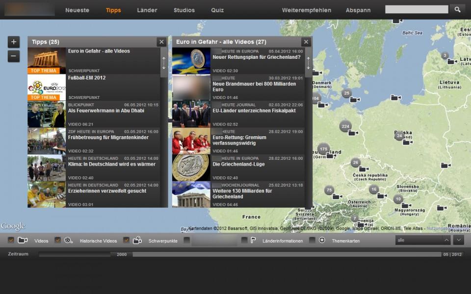 Geothek - Startseite