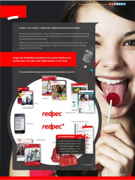 Redpac Werbung