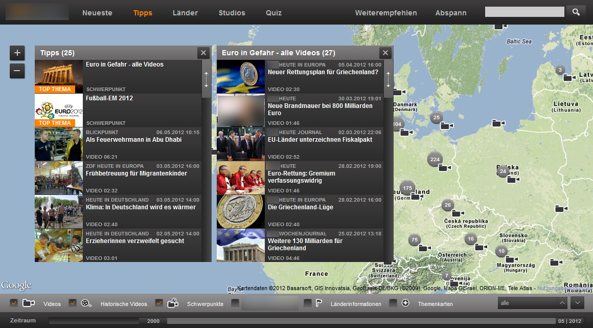 Geothek - Tips und Videos
