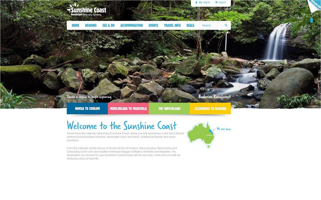Sunshine Coast - Konsumenten Seite - Startseite