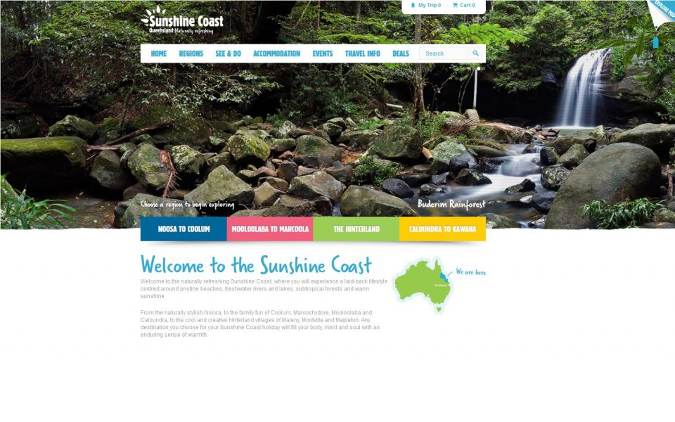 Sunshine Coast - Consumer Site - Homepage