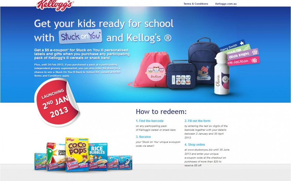 Kelloggs - Back to school