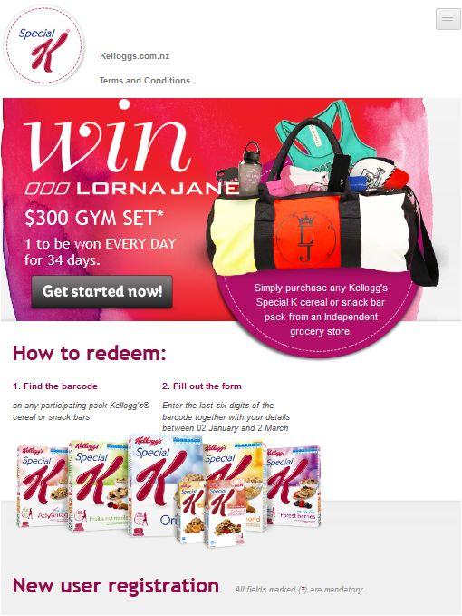 Lorna Jane - Mobiles Engerät 768px Breite - Startseite