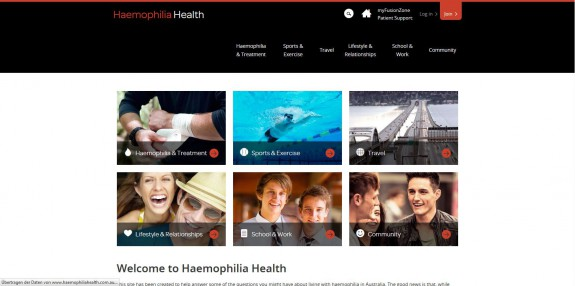 Haemophilia - Homepage