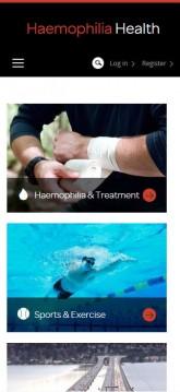 Haemophilia - Mobile view