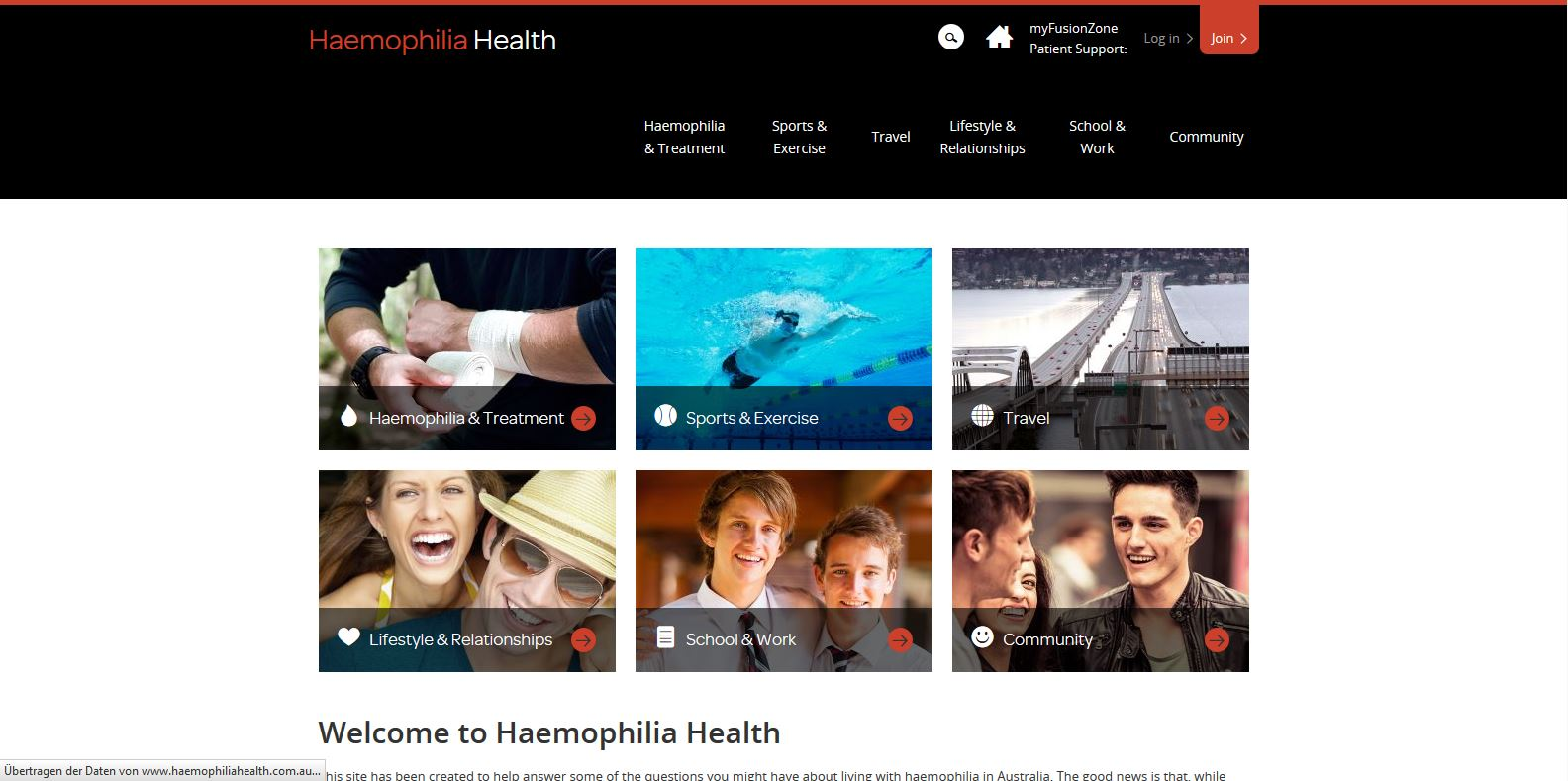 Haemophilia - Startseite