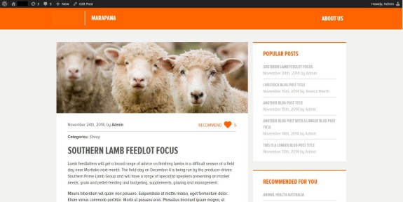 Livestock Blog Detailseite