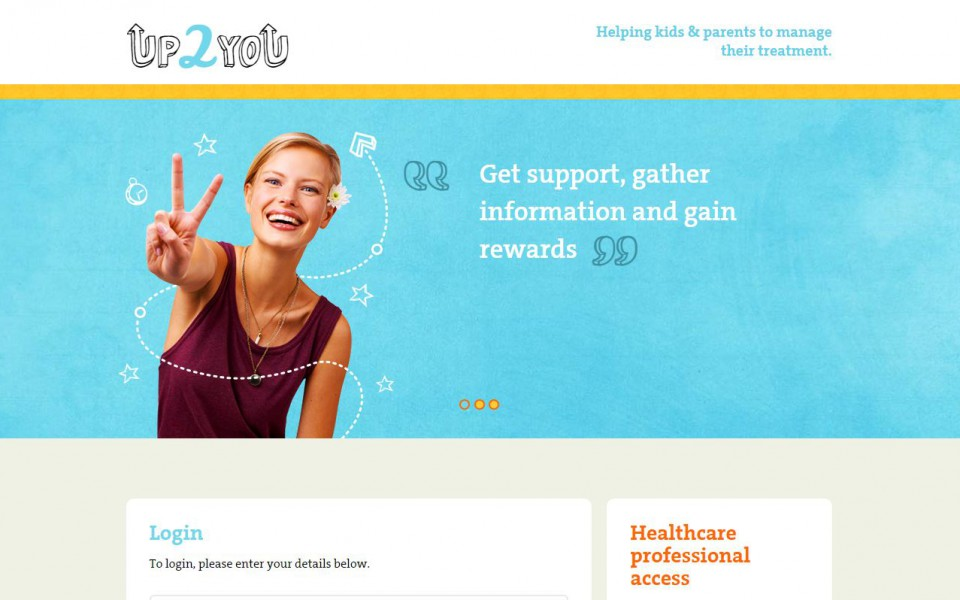 Up2you - Homepage